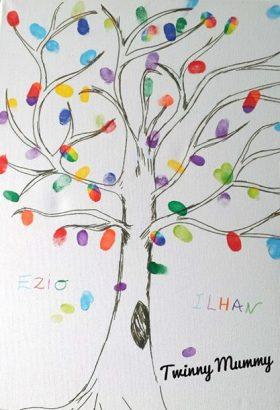 arbre empreintes
