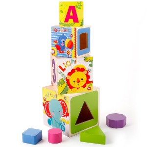 premier cube bois