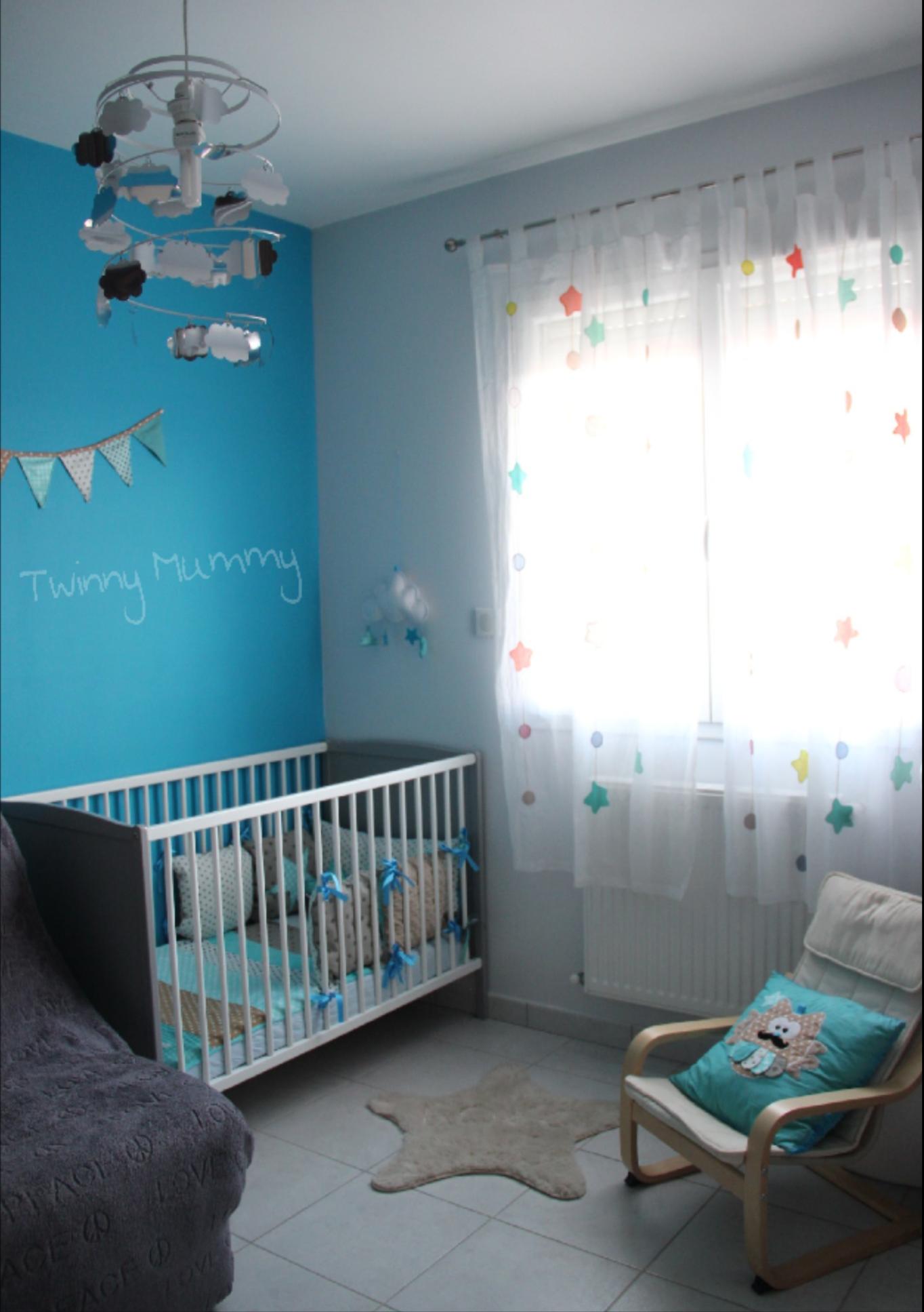 La chambre de b b doudoune enimages - Chambre bebe autour de bebe ...
