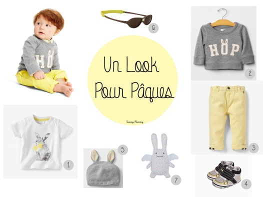 Look Book Pâques Baby Boy, Easter style baby, fashion kid easter