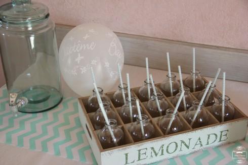 sweet table lemonade baptême