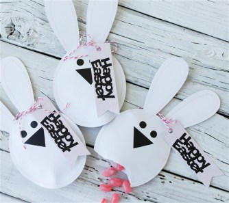 emballage lapin bunny craft easter pâques