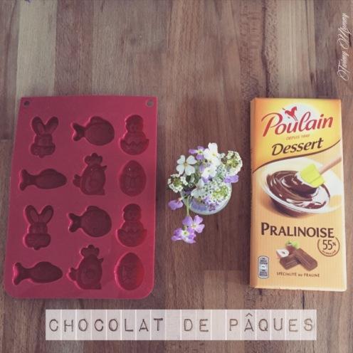 chocolat pâques praliné