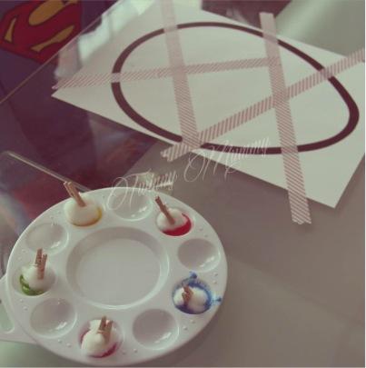 Activité créative Pâques enfant oeuf peinture