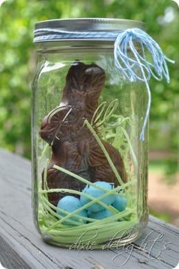 bunny jar lapin bocal easter pâques