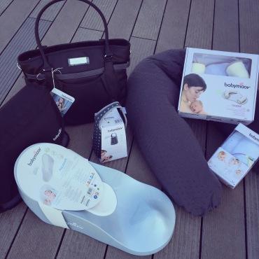Glitter bag, Messenger bag, aquasoft, cosypad, coussin maternité plumetis, chauffe biberon autonome, langes dream Babymoov Twinny Mummy