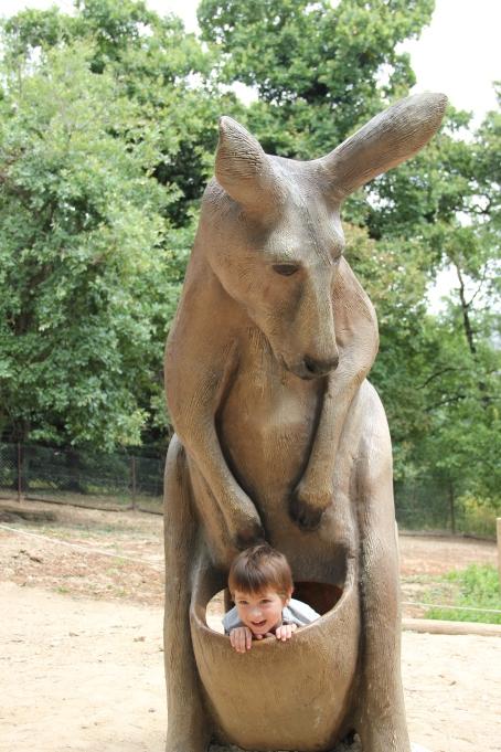 kangourou twinny mummy safari peaugres