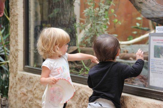 twinny mummy bébé love safari peaugres