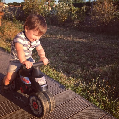 bébé love draisienne moto twinny mummy