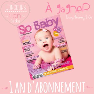 concours so baby twinny mummy