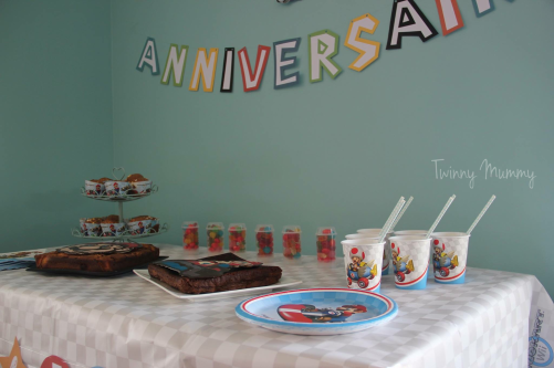 mario kart birthday party