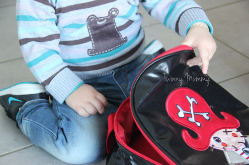 sac pirate garçon bellemont twinny mummy