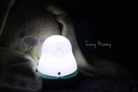 veilleuse super nomade lapin pabobo