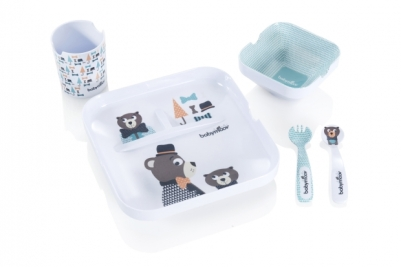lovely bear lunch set babymoov