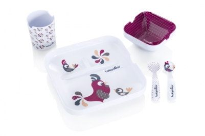lovely bird lunch set babymoov