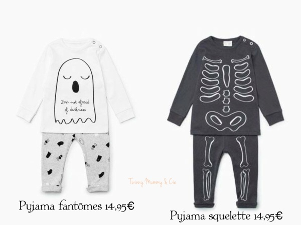 sélection halloween zara kid
