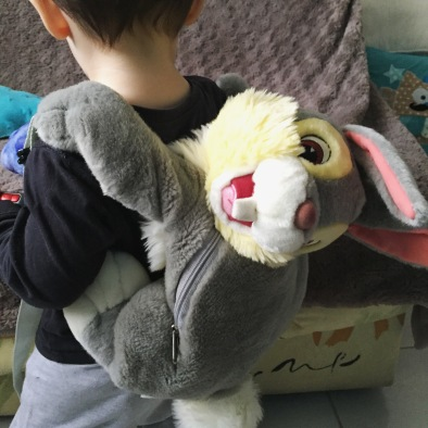 sac à dos panpan lapin disney