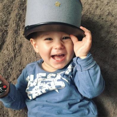 bébé love képi militaire