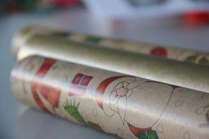 papier cadeaux craft calendrier de l'avent