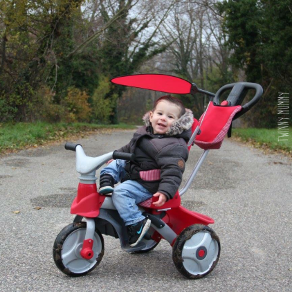 tricycle baby trike easy evolution feber famosa