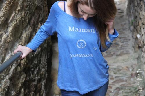 t shirt maman 2 jumeaux +1