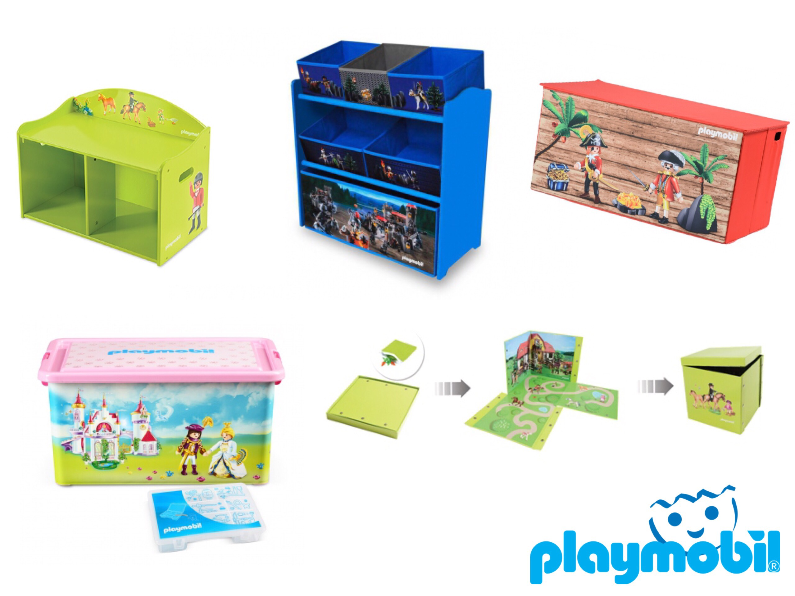 des playmobil bien rang s avec my note deco concours inside. Black Bedroom Furniture Sets. Home Design Ideas