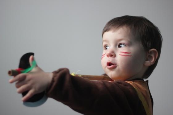 déguisement indien bébé