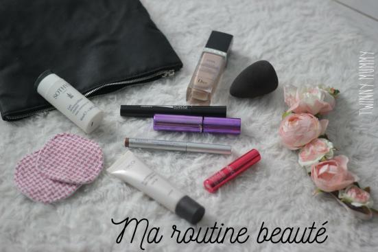 routine beauté