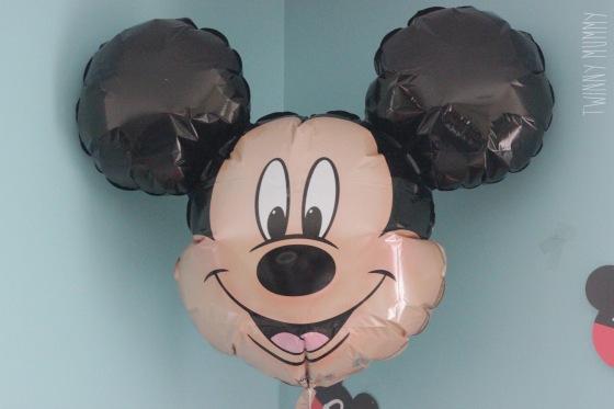 anniversaire 2 ans mickey déco