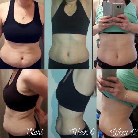 résultat top body challenge 12 semaines tbc