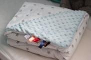 couverture minky sevira kid