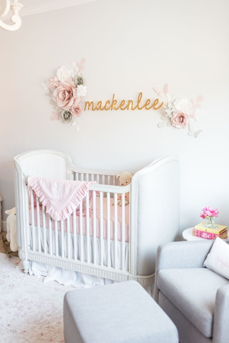 Inspiration déco chambre bébé fille
